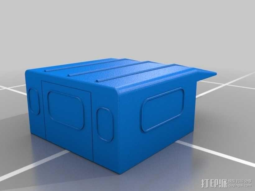 路虎越野车 3D模型  图4