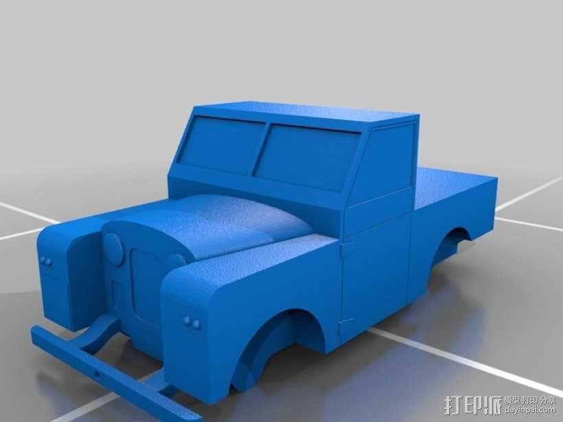 路虎越野车 3D模型  图6