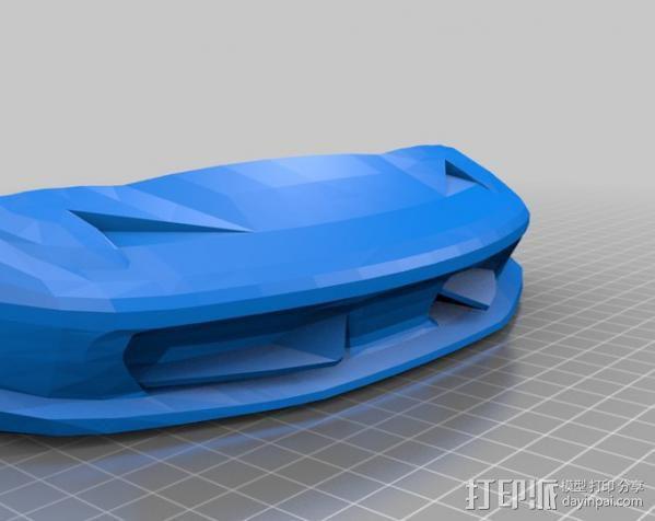 法拉利458 3D模型  图2