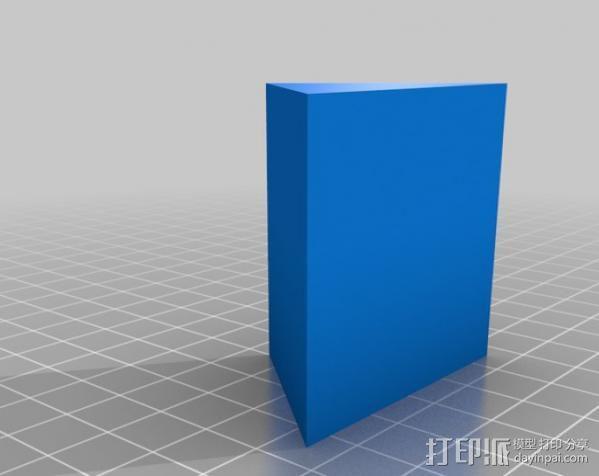 小屋 3D模型  图1