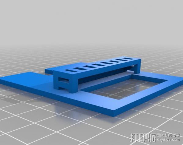 小屋 3D模型  图2