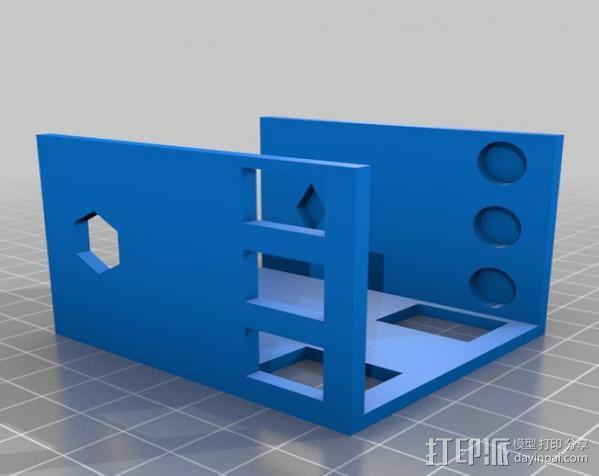 小屋 3D模型  图3