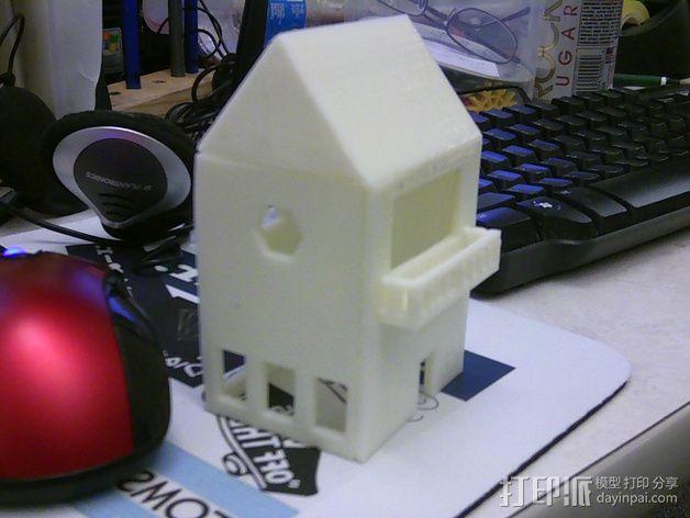 小屋 3D模型  图4