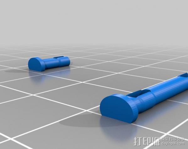 迷你挖掘机 3D模型  图13