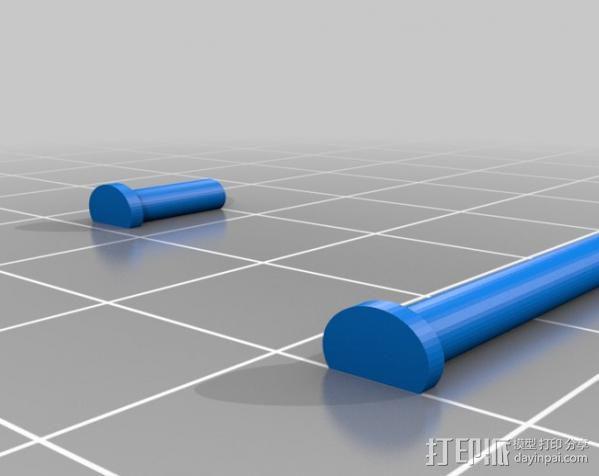 迷你挖掘机 3D模型  图12