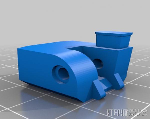 迷你挖掘机 3D模型  图17