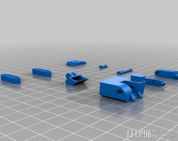 迷你挖掘机 3D模型  图16