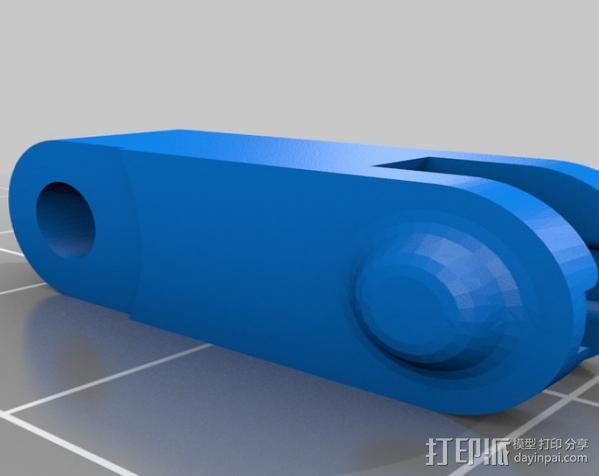 迷你挖掘机 3D模型  图18