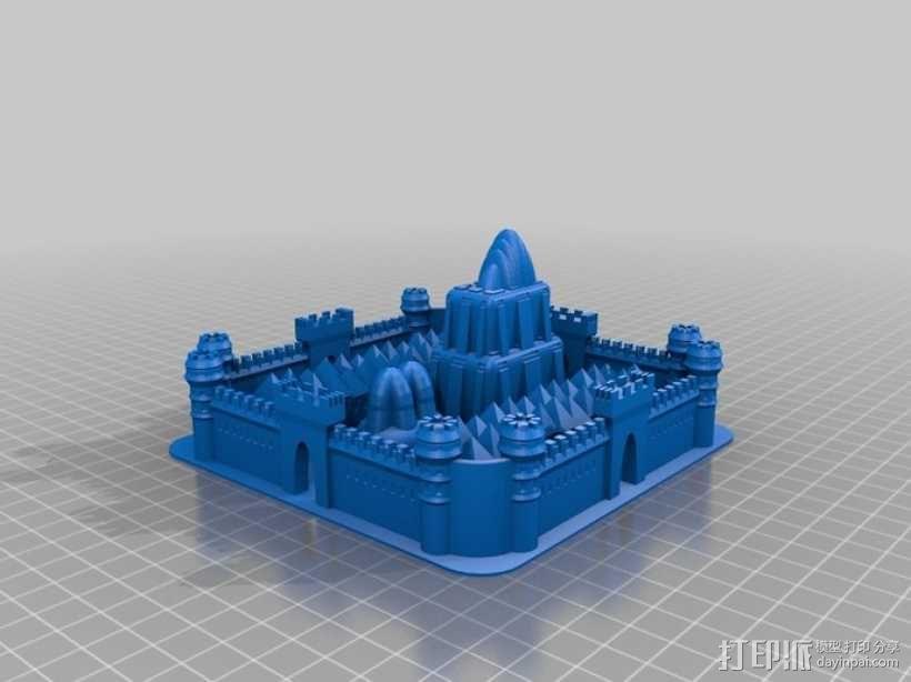 城堡 3D模型  图1