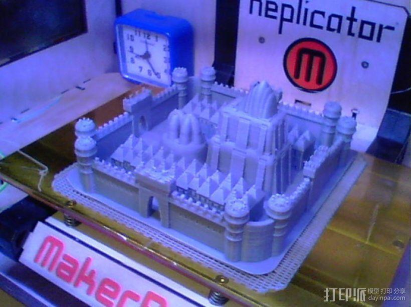 城堡 3D模型  图4