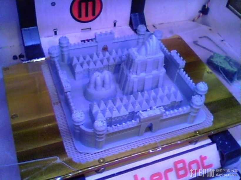 城堡 3D模型  图3