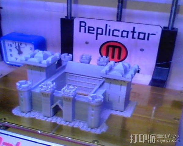 博丁安城堡  3D模型  图2