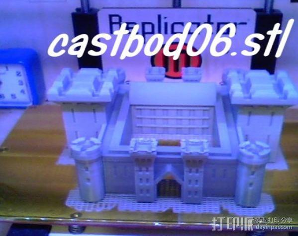 博丁安城堡  3D模型  图4