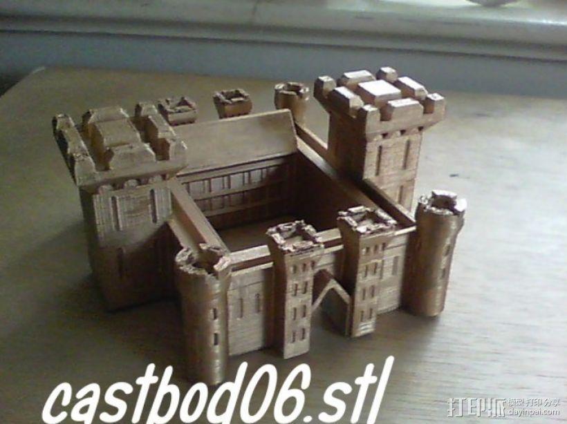 博丁安城堡  3D模型  图5