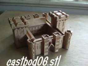 博丁安城堡  3D模型