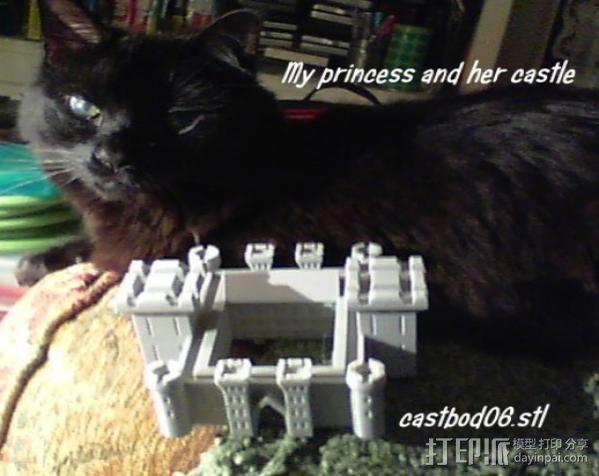 博丁安城堡  3D模型  图6