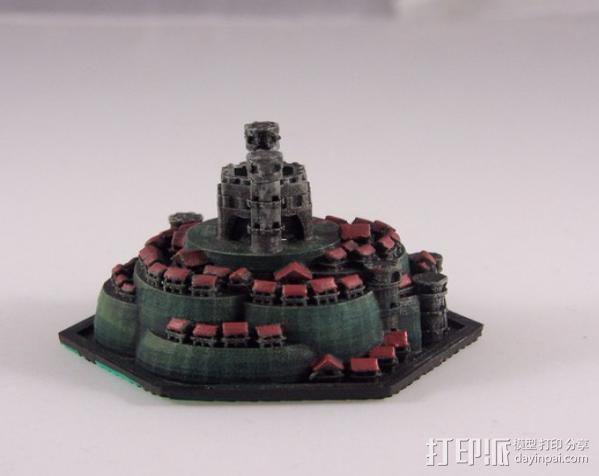 战争游戏 城堡 3D模型  图5