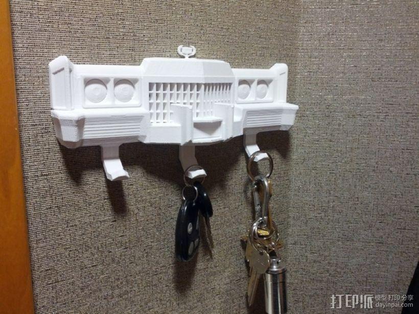 钥匙挂勾  3D模型  图1
