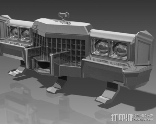 钥匙挂勾  3D模型  图2