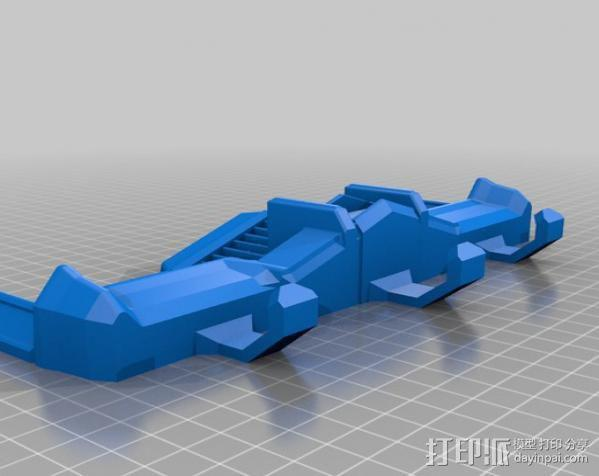 钥匙挂勾  3D模型  图3