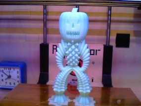 万圣节 南瓜雪人 3D模型