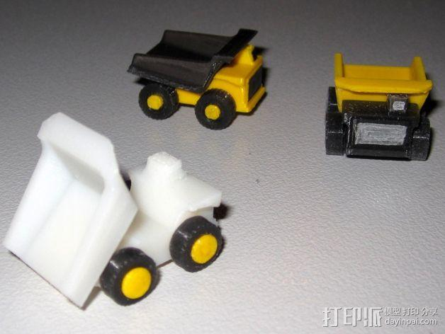 迷你翻斗车 3D模型  图3