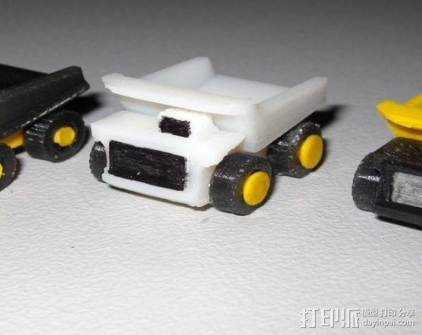 迷你翻斗车 3D模型  图5