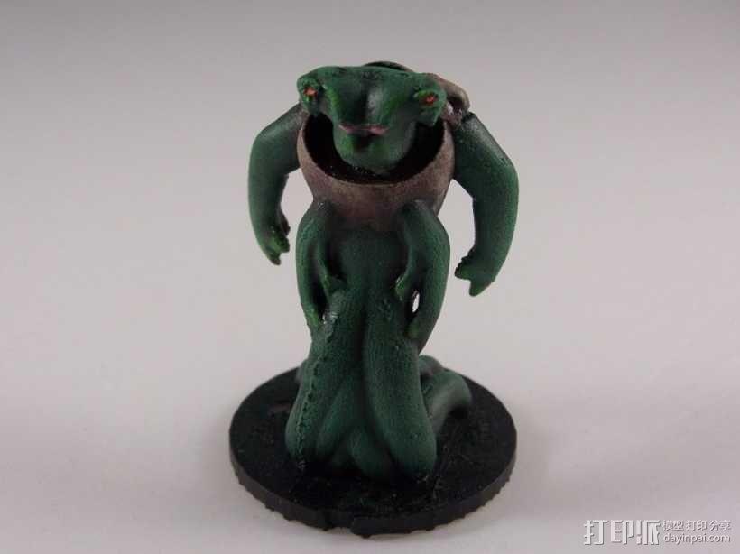 外星神秘生物 玩偶 3D模型  图3