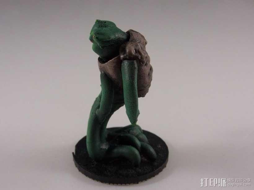 外星神秘生物 玩偶 3D模型  图4