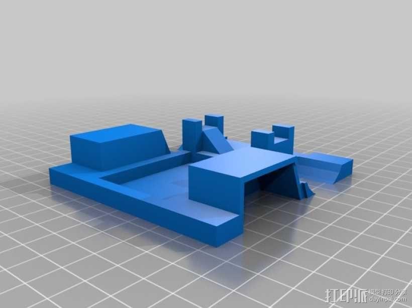 UPS卡车 3D模型  图4