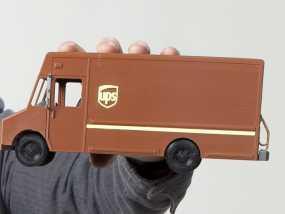 UPS卡车 3D模型