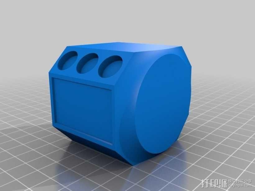 拖拉机  3D模型  图2