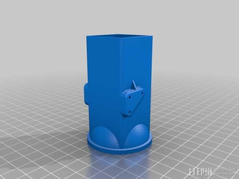 拖拉机  3D模型  图5