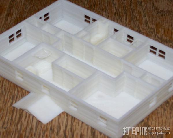 迷你房屋 3D模型  图5