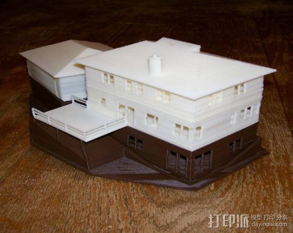 迷你房屋 3D模型  图3