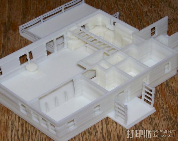 迷你房屋 3D模型  图4