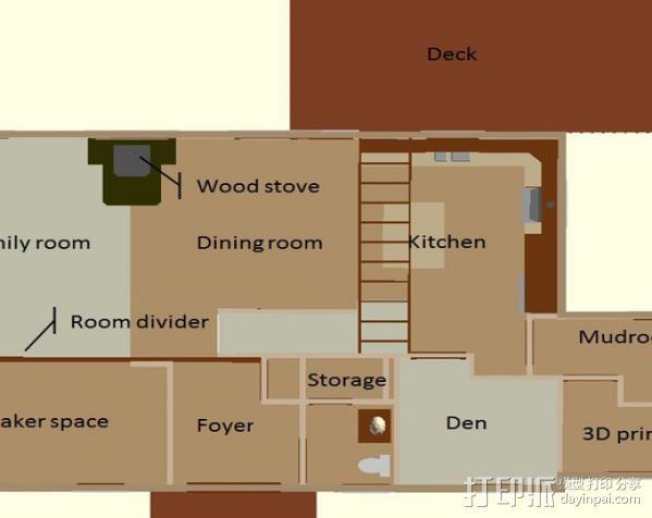 迷你房屋 3D模型  图6