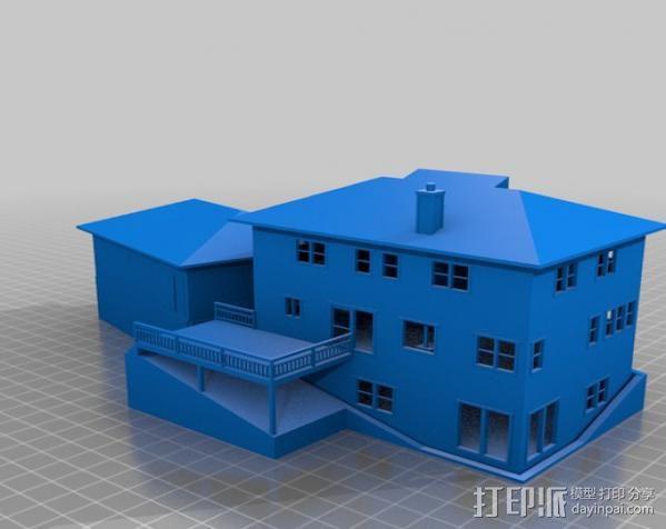 迷你房屋 3D模型  图15
