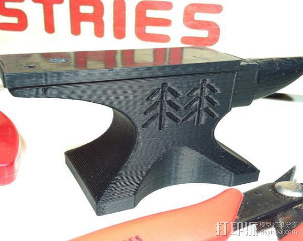 铁匠 铁砧 3D模型  图2