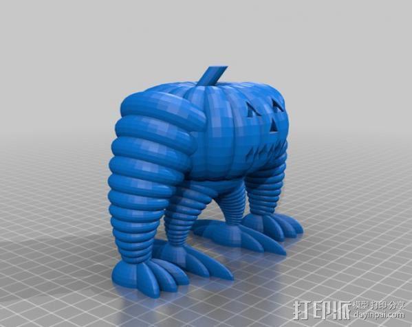 巨型南瓜机器人 3D模型  图1
