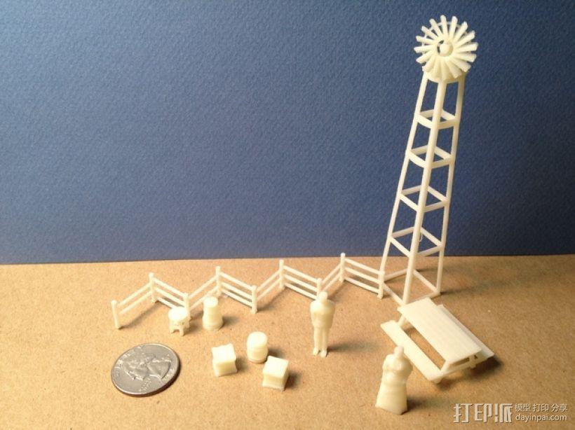 野餐主题小物件 3D模型  图1