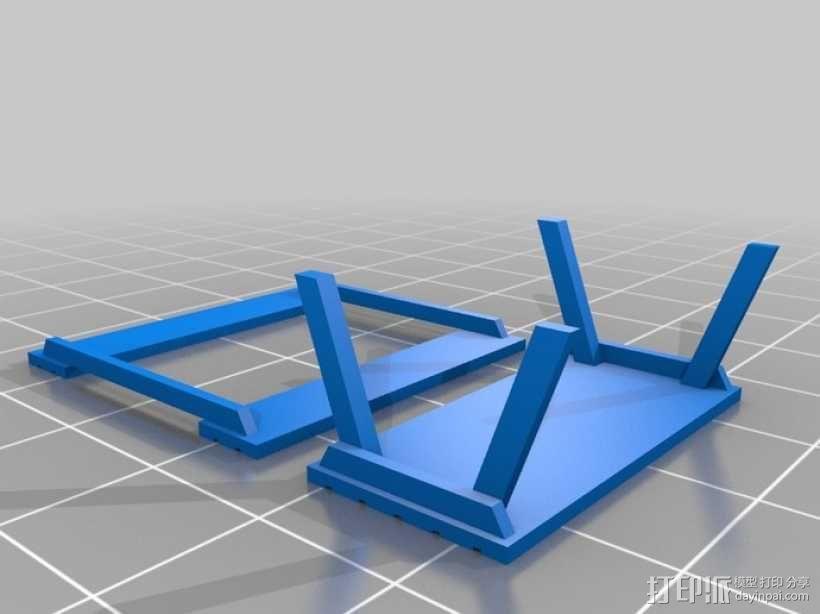 野餐主题小物件 3D模型  图3