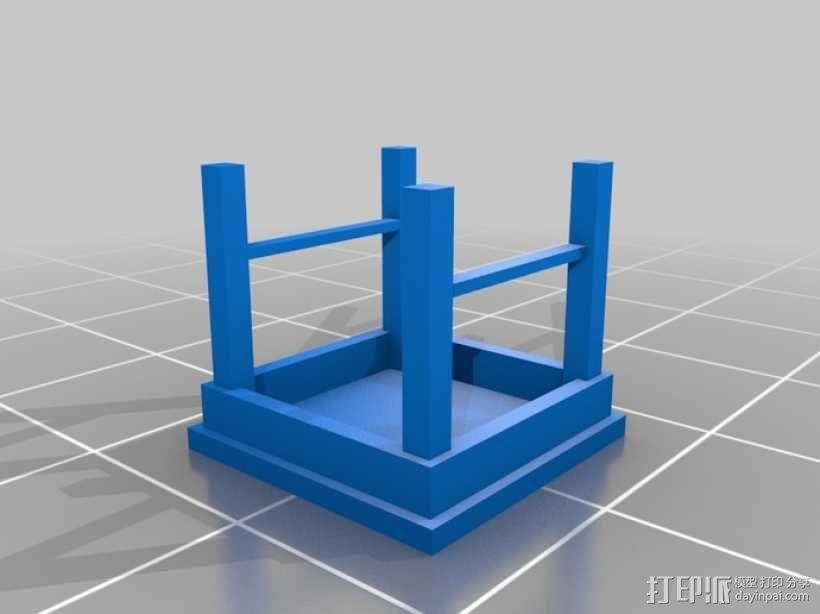 野餐主题小物件 3D模型  图5