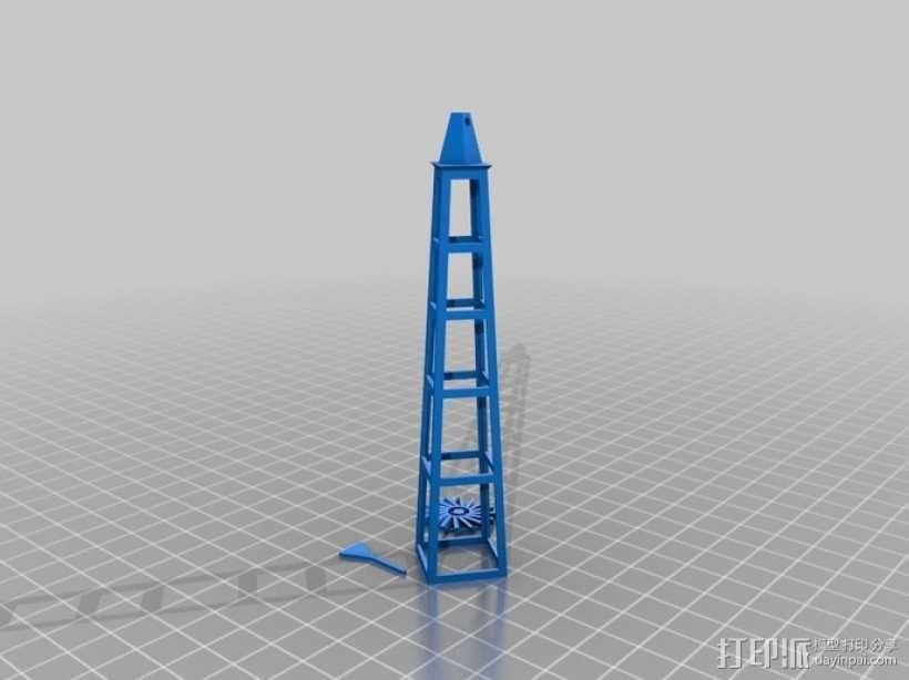 野餐主题小物件 3D模型  图4