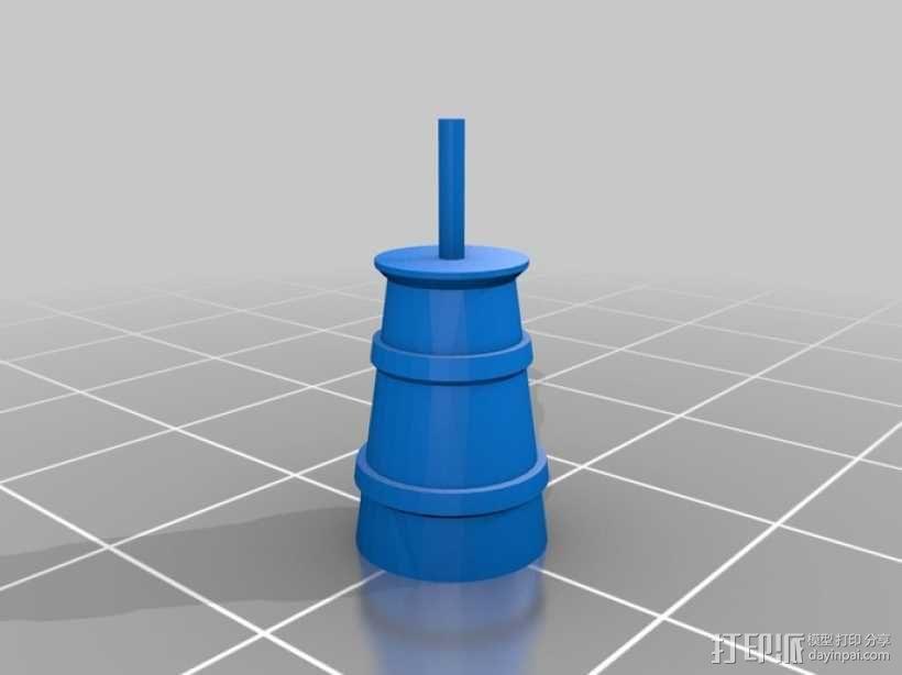 野餐主题小物件 3D模型  图7