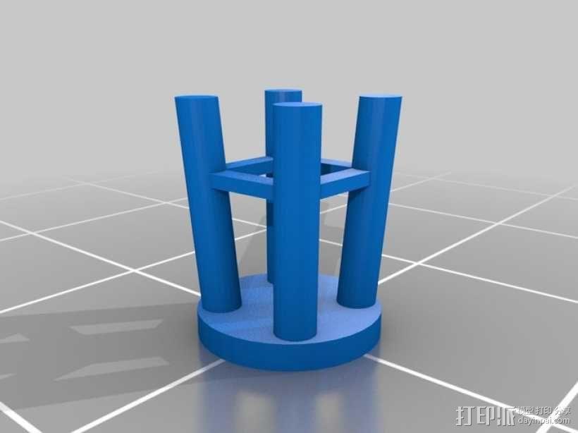 野餐主题小物件 3D模型  图6