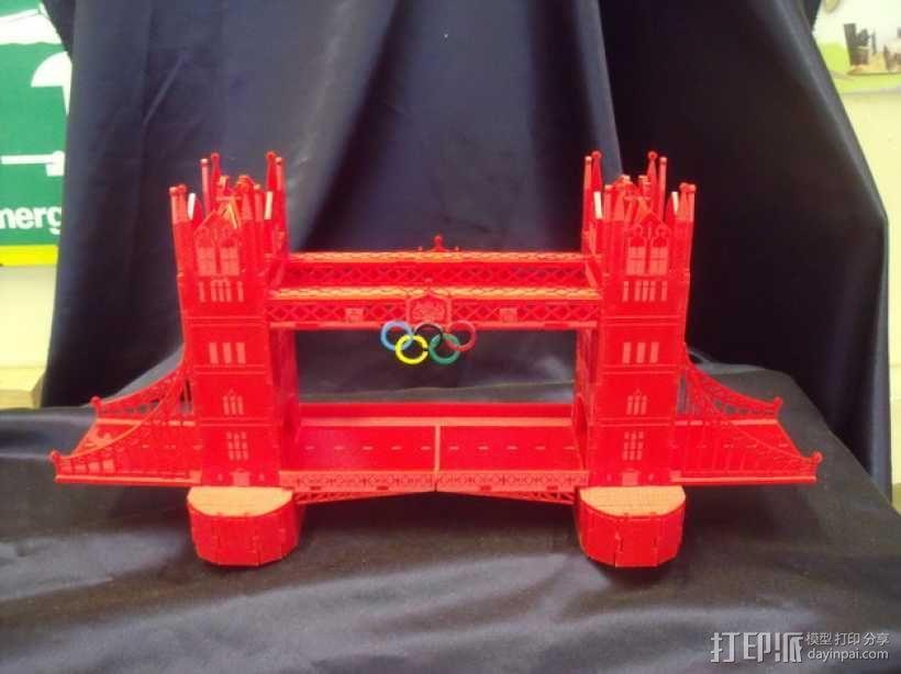 伦敦塔桥 3D模型  图1