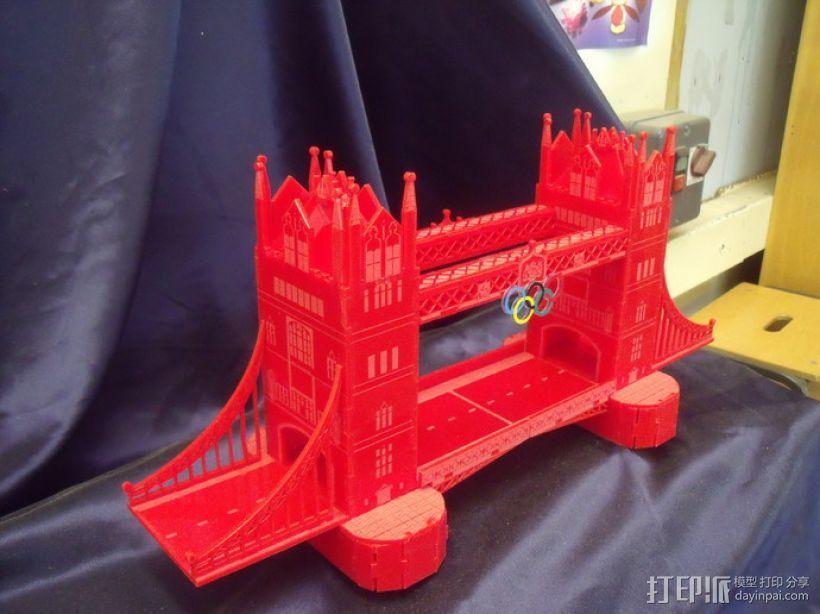 伦敦塔桥 3D模型  图2
