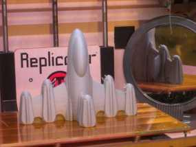 反推进火箭009 3D模型