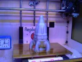 反推进火箭007 3D模型